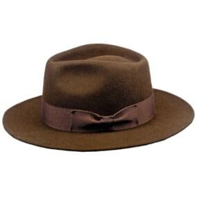 Flot brun Fedora hat
