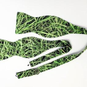 Butterfly med græs-print