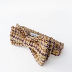 Butterfly i hundetern tweed 6