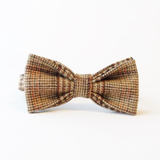 Butterfly i plaid-tweed