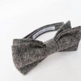 Butterfly i sort/grå tweed 9