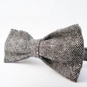 Butterfly i sort/grå tweed 10