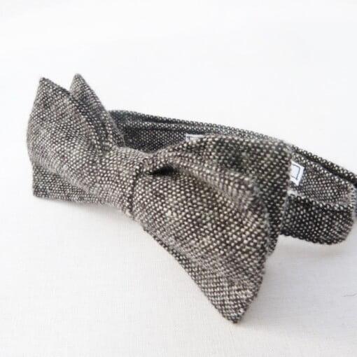 Butterfly i sort/grå tweed 4