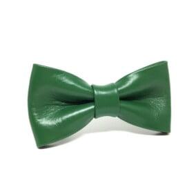 Grøn butterfly i læder