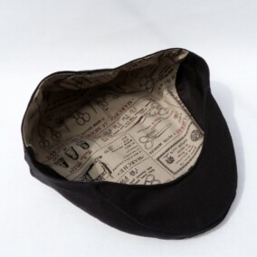 Inderfor i sixpence hat i navy
