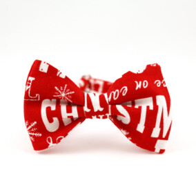 Jule-butterfly med Christmas-tekst