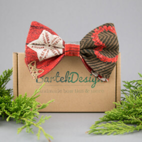 Jule-butterfly med ornament