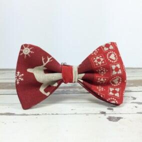 Jule-butterfly med rensdyr 4
