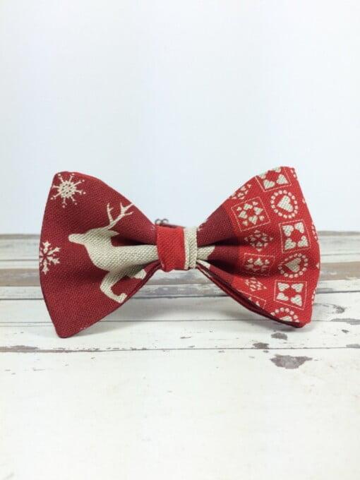 Jule-butterfly med rensdyr 3