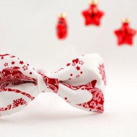 Jule-butterfly med rensdyr-ornament