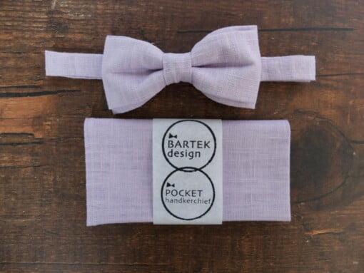 Lavendel butterfly og lommetørklæde