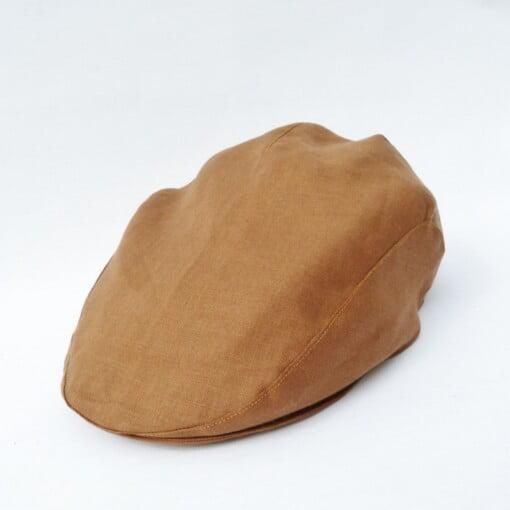 Lysebrun sixpence hat