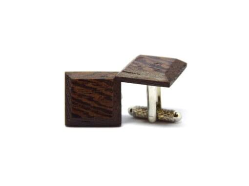Manchetknapper i Wenge-wood