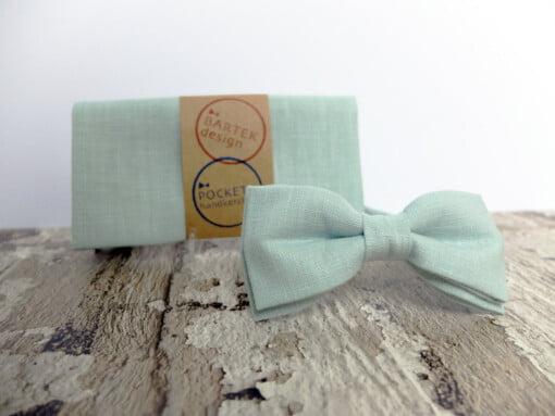Mintgrøn butterfly med lommetørklæde 6
