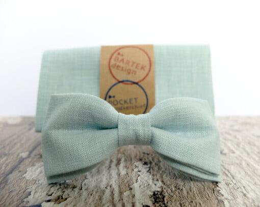 Mintgrøn butterfly med lommetørklæde 5