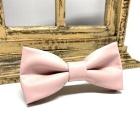 Pink butterfly i kunstlæder 6
