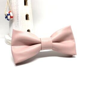 Pink butterfly i kunstlæder 5