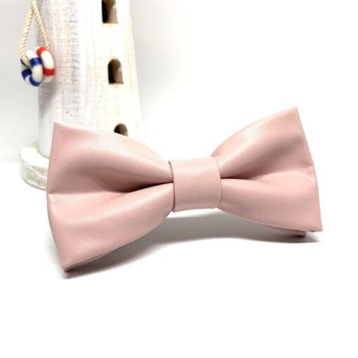 Pink butterfly i kunstlæder 2