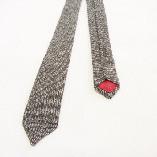 Smalt slips i skotsk tweed 2
