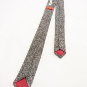 Smalt slips i skotsk tweed 5