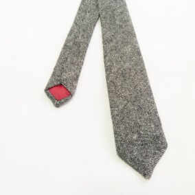 Smalt slips i skotsk tweed 6