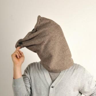 Stribet tube tørklæde